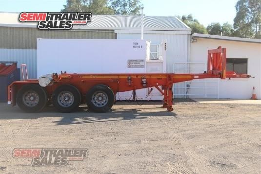 2009 Barker Skeletal Trailer Semi Trailer Sales - Trailers for Sale