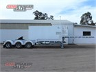 1999 Vawdrey Drop Deck Trailer B Double Lead/Mid Drop Deck A Trailer