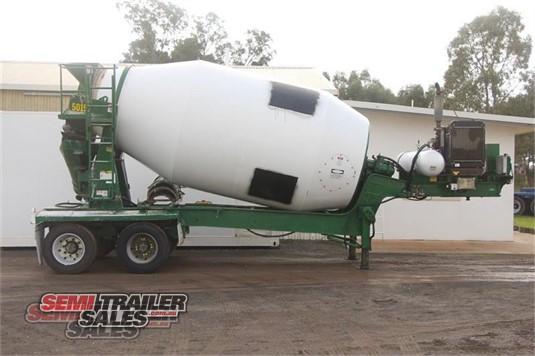 1999 Hamelex White Concrete Agitator Trailer Semi Trailer Sales - Trailers for Sale