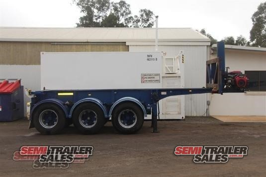 2003 Barker Skeletal Trailer Semi Trailer Sales - Trailers for Sale