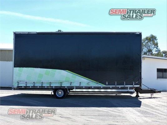 2015 Dean Curtainsider Trailer Semi Trailer Sales - Trailers for Sale