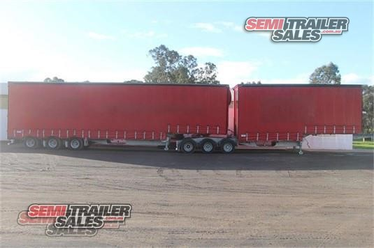 2001 Barker Curtainsider Trailer Semi Trailer Sales - Trailers for Sale