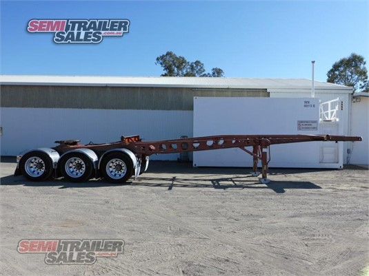 2011 Maxitrans Skeletal Trailer Semi Trailer Sales - Trailers for Sale