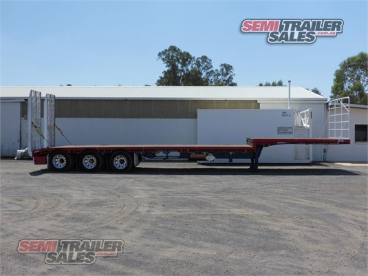 2008 Barker Drop Deck Trailer Semi Trailer Sales - Trailers for Sale