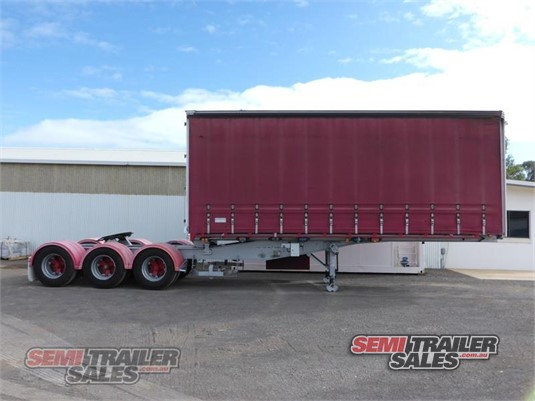 2008 Krueger Curtainsider Trailer Semi Trailer Sales - Trailers for Sale