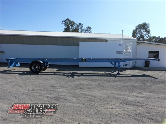 2010 Perrins Skeletal Trailer Semi Trailer Sales - Trailers for Sale