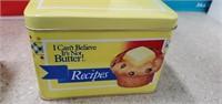 3 Boxes Of 18 Recipe Tins & 14  Advertising Tins