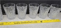 19 Pieces Of Imperial  Assorted Pressed Glass