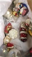 Vintage Christmas Ornaments - Tins & Gum