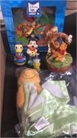 Box Lot Of Disney Items
