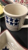 Assorted Glassware (star Dish - Gingerbread Man