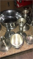 Lot Of Miscellaneous Silver Dishes