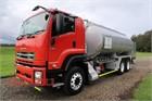 2011 Isuzu FXY 1500 Tanker