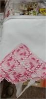 Linens & Elna Sewing Machine