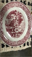 Large Thanksgiving Platter (bountiful Harvest By