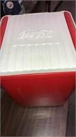 Coca Cola Cooler, Collector Glasses, Bottles & Mis