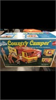 Barbie Country Camper - 4 Boxes Of Hot Wheels