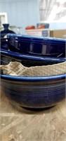 Cobalt Blue Fiestaware  Approx 25 Pieces