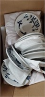 3 Boxes Of Assorted  Homer Laughlin China