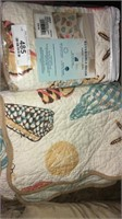 Comforter And Reversible Shams