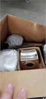 Box Of Cothes Pins , Candles & Misc