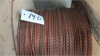 COPPER BARE GROUND WIRE 900 METERS 14-D