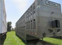 Semi-Trailers - Livestock Trailers 1990 WILSON 48