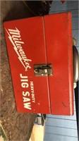 3 Milwaukee power tools (jig saw - electric