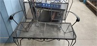 3 Piece wrougt Iron Patio Furniture