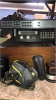 Shelf Of Household Misc (pioneer Radio -