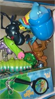 Shelf Of Assorted Toys (8 Boxes)