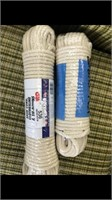 Two 100 Foot Rolls Of Rope