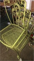 Large Lot Of Green Patio Furniture