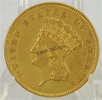 $3 Gold Piece