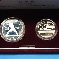 United States Mint 1992 Olympic Coins