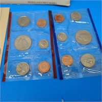 United States Mint 1988 Uncirculated Coin Set