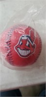 3 Cleveland  Indians  Baseballs