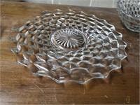 3 Boxes Of Fostoria Glassware