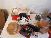 Jars, Baskets & Misc