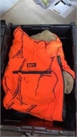 4 totes full of quality hunting gear to include,