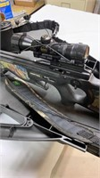 Horton Explorer crossbow with scope and hard