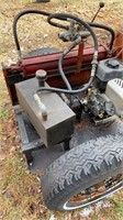 Shop built Heavy Duty log splitter. Works and