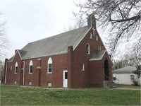 Former Mt. Hope Lutheran Church Bdg & Restaurant on Square