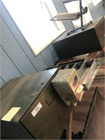 Metal Cabinets - Wooden Bench - Misc
