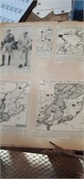 Scrapbooks Of WWII Paper Clippings