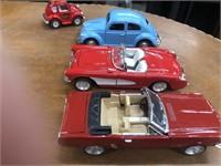 Tote Of Metal Cars