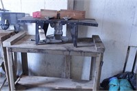 Craftsman Router W/  Table & Bits