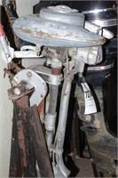 Vintage Champion Motors Outboard Engine