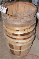 7 Pc Bushel Baskets