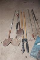 9 Piece Yard Tool Group
